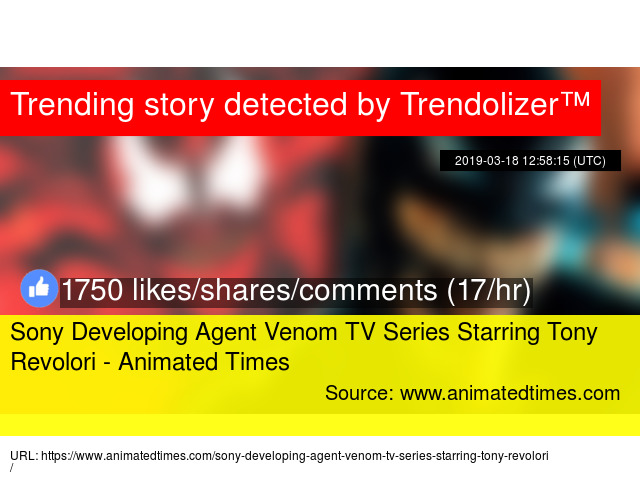 Sony Developing Agent Venom TV Series Starring Tony Revolori